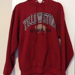 Red Women's Yellowstone Hoodie Sweatshirt